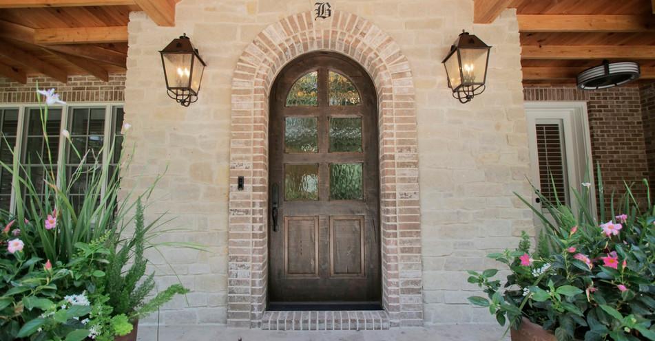 Custom Home - Entrance
