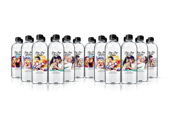 24 Pack of 16.9 Ounce Bottles of Purified Distilled Water