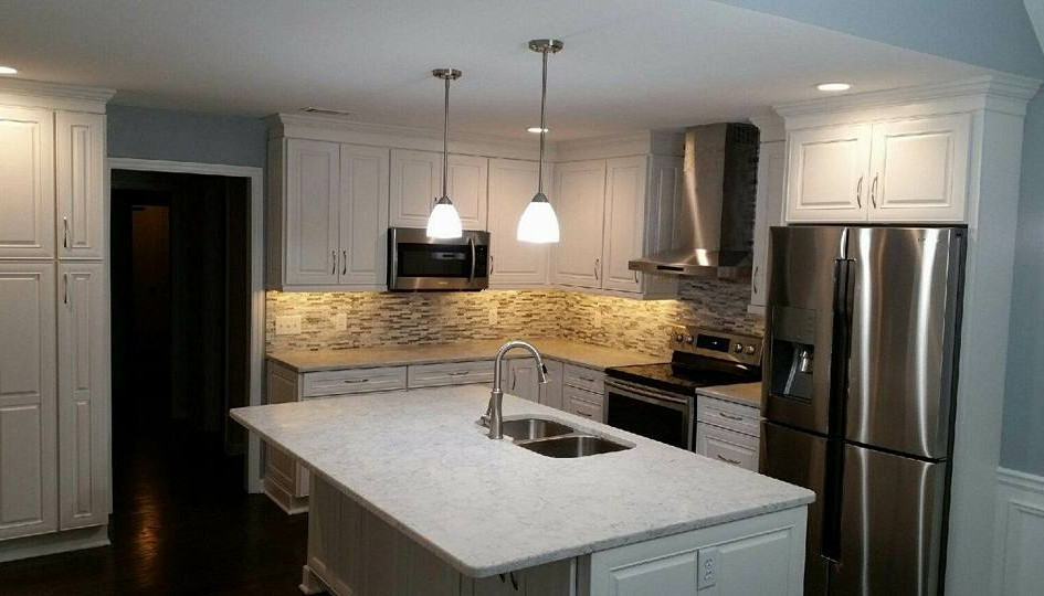 Hardly a day goes by that we don't say how much we love our kitchen!  Not only is it beautiful, but it is also so much more functional than it was before.  Our family get-togethers are so much easier with the flow that our kitchen now has!    Diana May - Canton