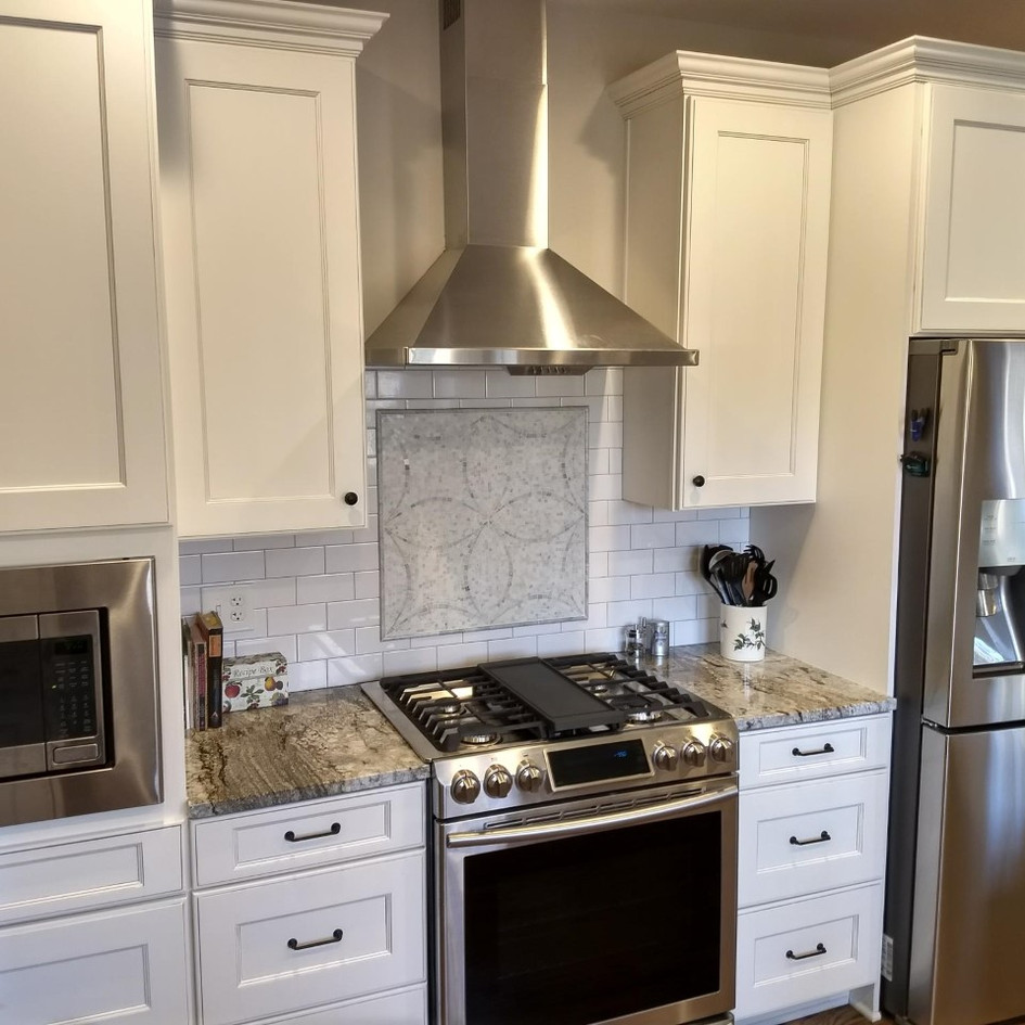 From start to finish, they delivered as expected.  A great bunch of guys and a great kitchen!!  We'd do it again.. Geoff and Mary Bennington - Alpharetta