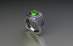 Spectrum Men's ring