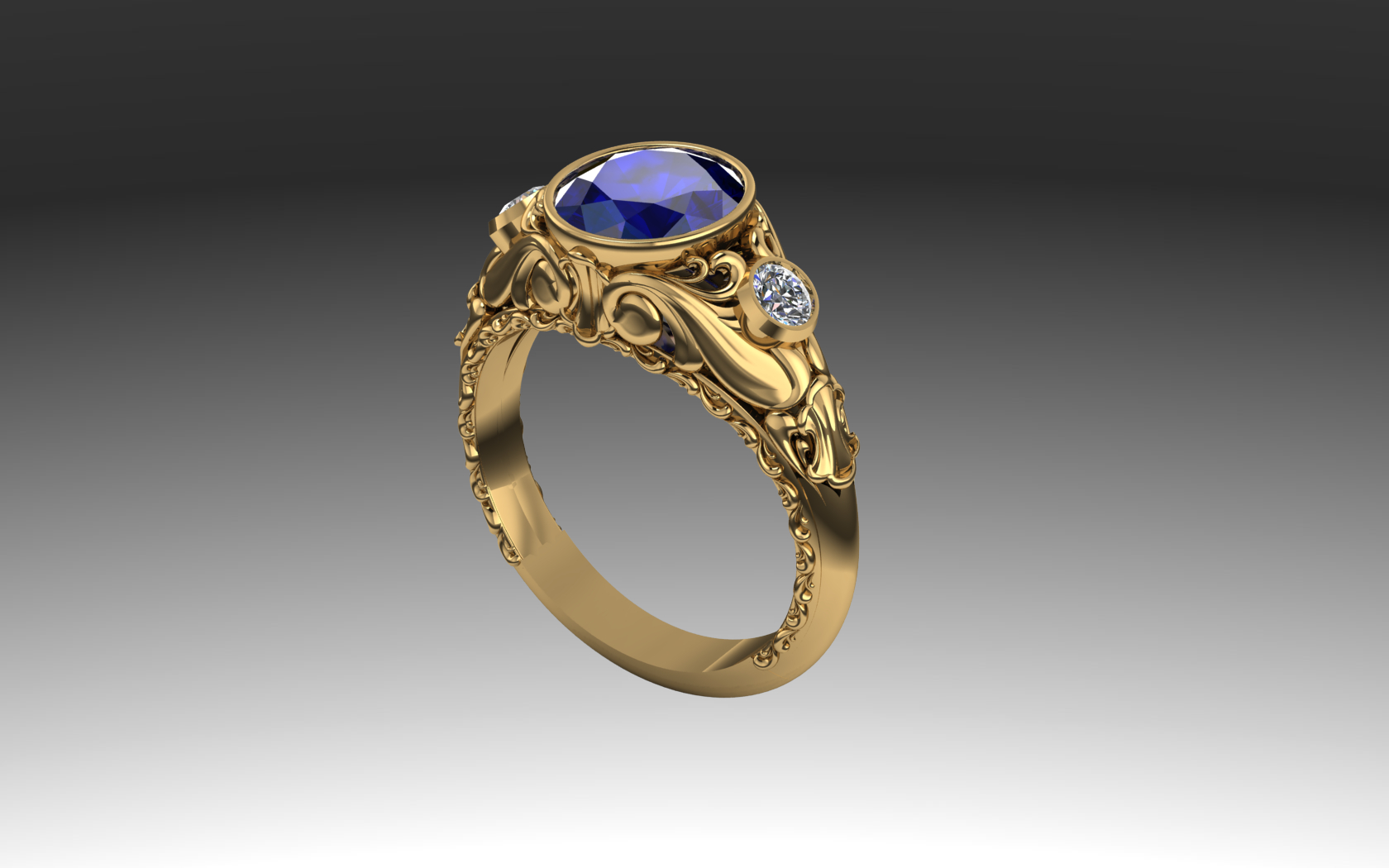 Acanthus Ring