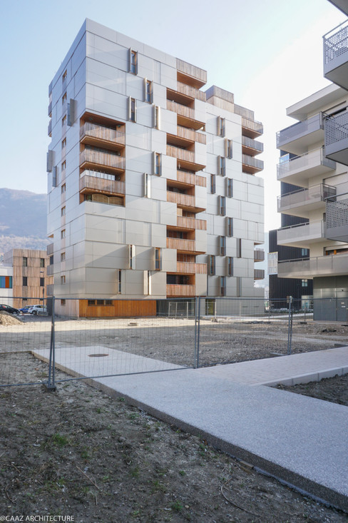 07 CAAZ Grenoble Logements CK3 Vue intér