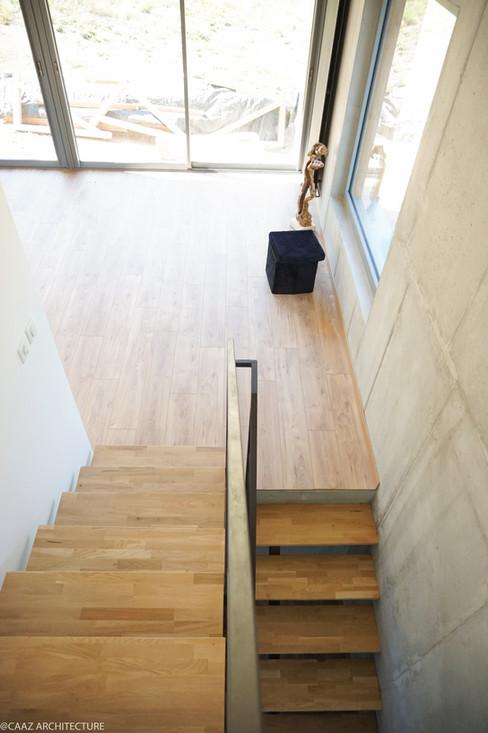 07 CAAZ Proveysieux Maison M escalier 1.