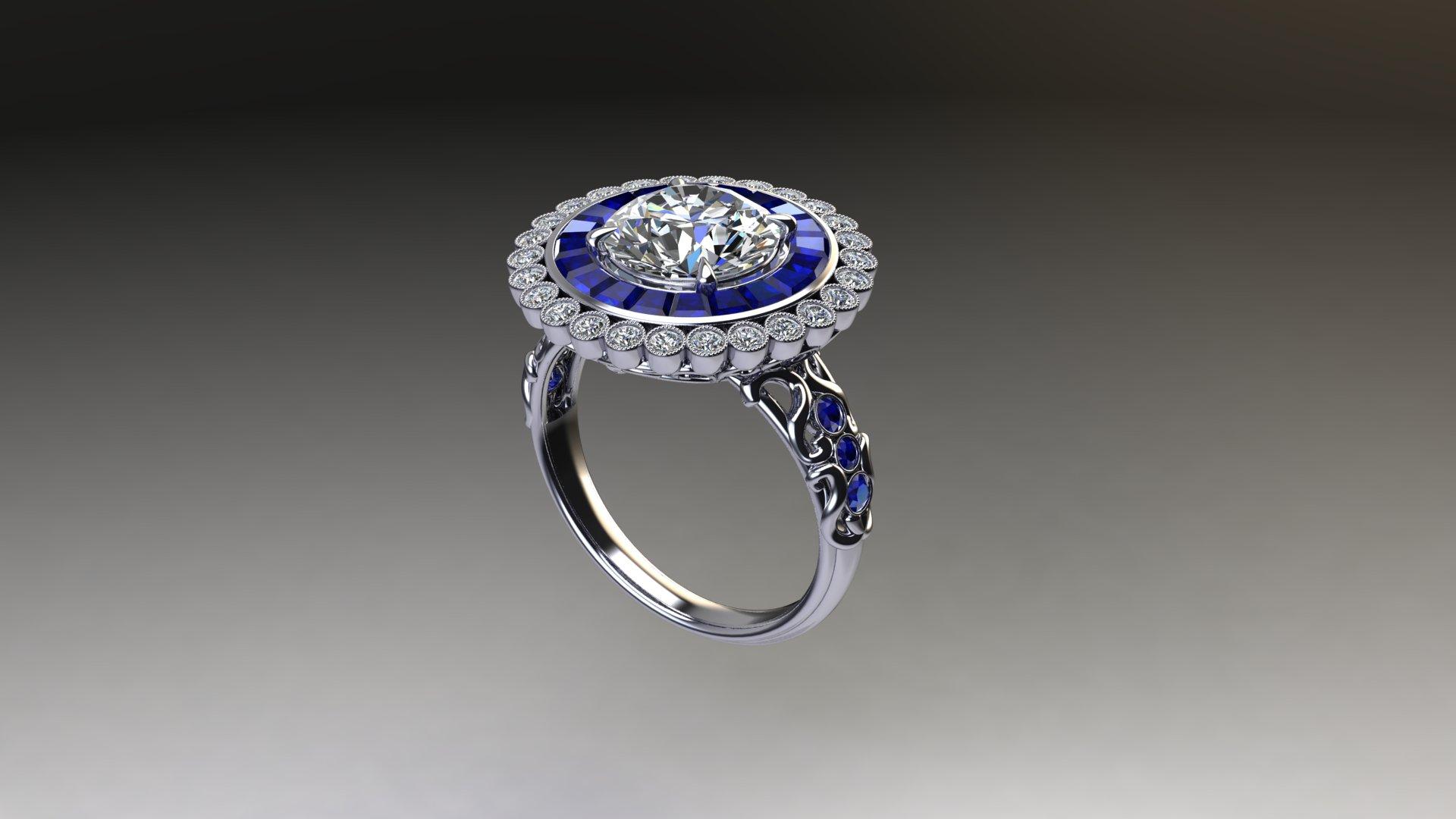 Edwardian Round Ring