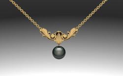 Acanthus pendant