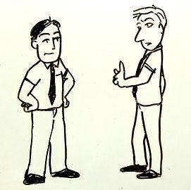 ボディーランゲージ 対話