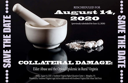 SAVE THE DATE 2020 Elder Abuse Conferenc