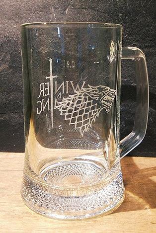 Gravírovaný pohár na pivo