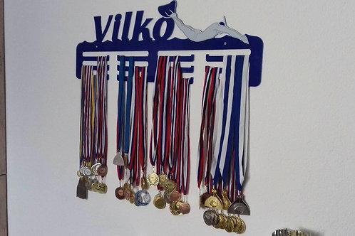 Vešiak na medaily - plexisklo
