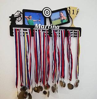 Fotovešiak na medaily