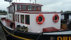 Woonschip sleepboot 23.80