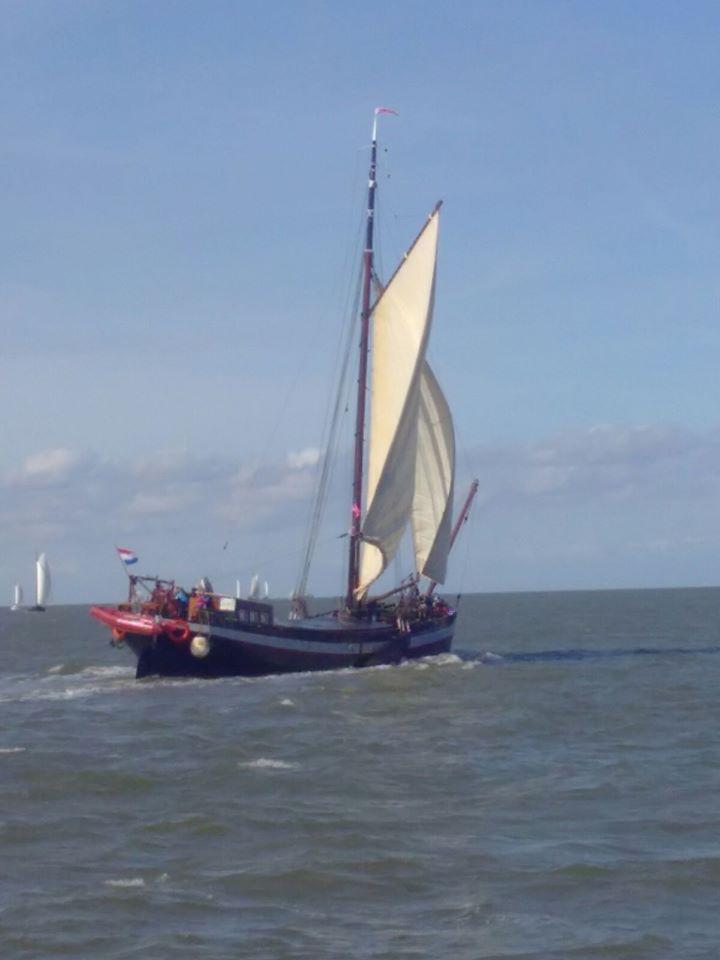 Klipper 26 m zeilend woonschip
