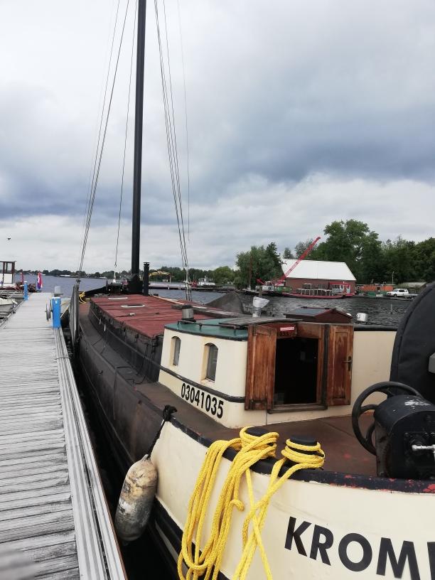 Groninger Tjalk 22 m woonschip