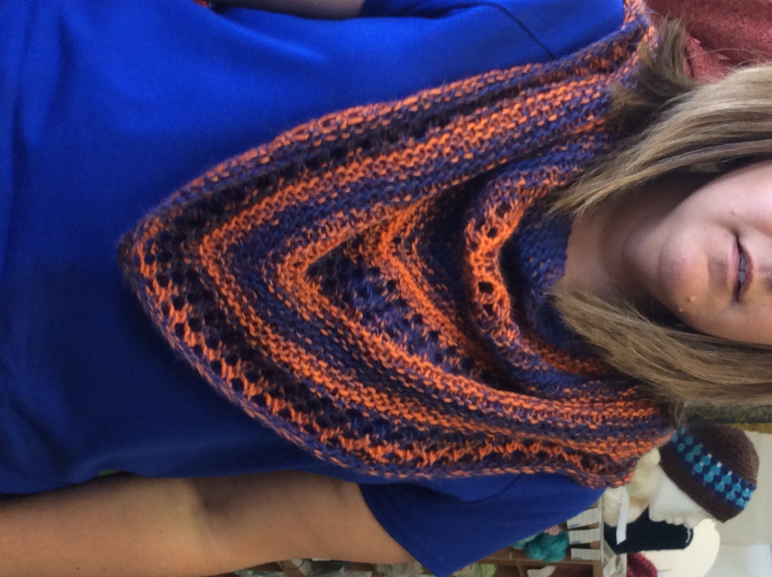 Shawntee's Color Duo Shawlette