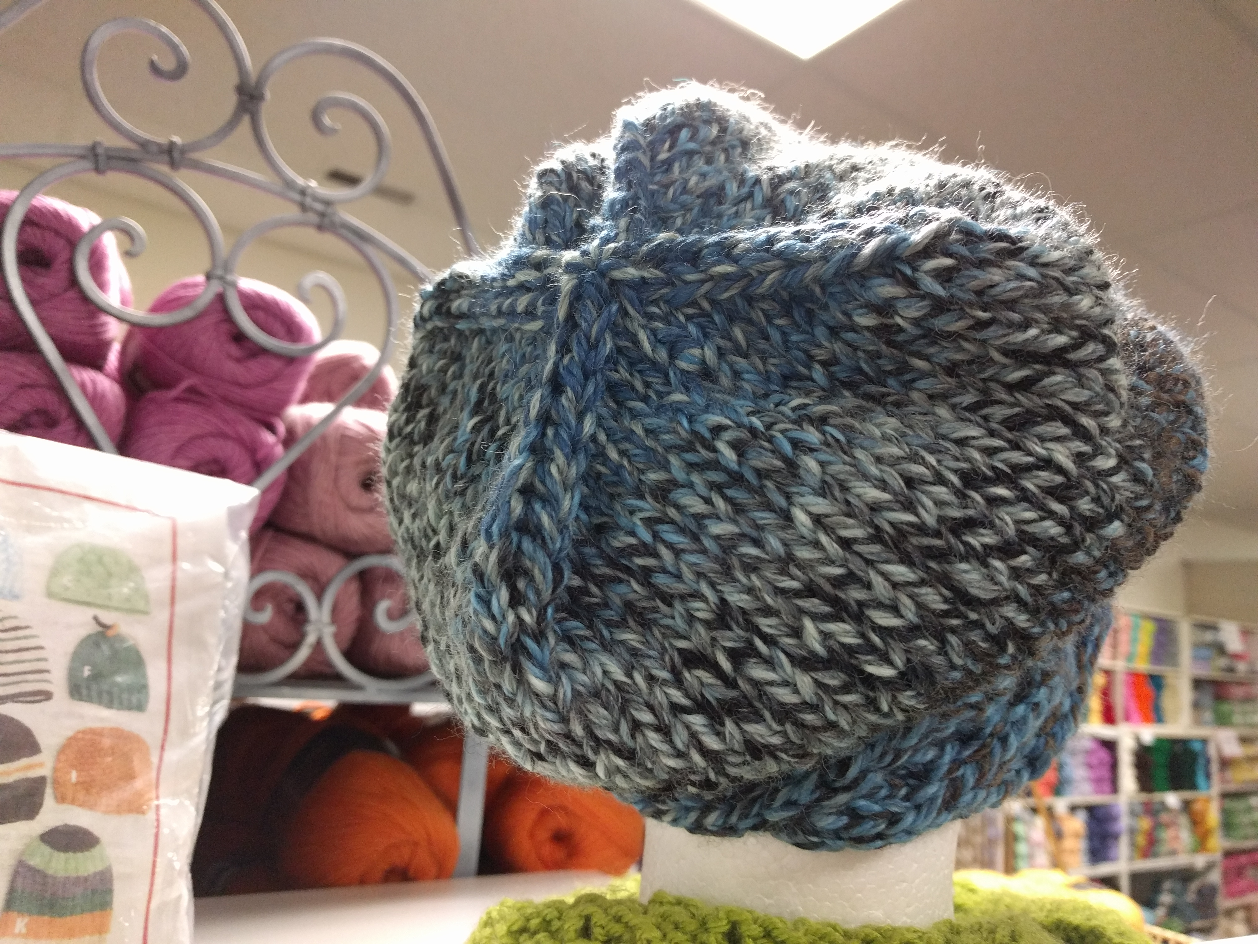 Kathy's Slouch hat back