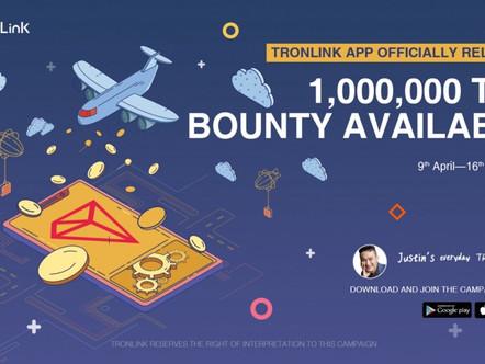 TronLink App lançado oficialmente! Baixe para compartilhar 1.000.000 TRX!