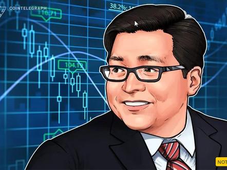 """Tom Lee, da Fundstrat: os mercados de urso são um """"tempo de ouro"""" para ser em criptografia"""