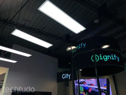 Philips anuncia lâmpada Li-Fi que transmite Internet por meio da luz.
