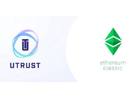 Utrust faz parceria com a equipe de desenvolvimento do Ethereum Classic para integrar ETC