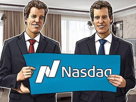 Winklevoss Crypto Exchange faz parceria com a Nasdaq na indústria em primeiro lugar.