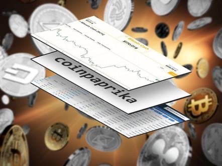 Esses sites de criptografia de dados têm o objetivo de ser mais precisos do que Coinmarketcap