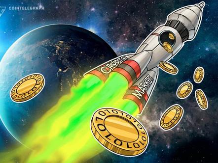 O preço da Bitcoin salta US $ 1.000 em 30 minutos de crescimento de mercado em toda a diretoria.