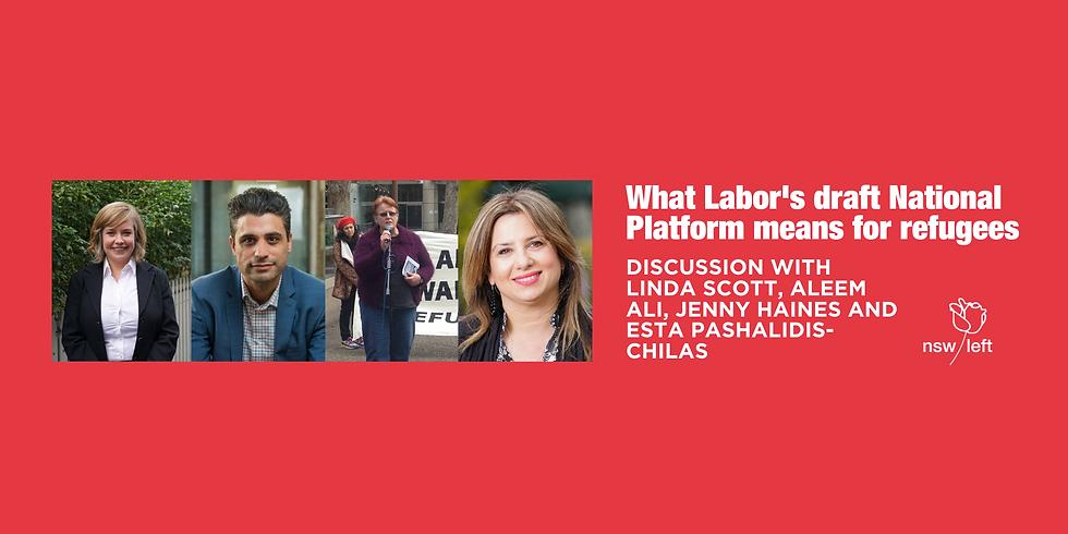 What Labor's draft National Platform means for refugees  (1)