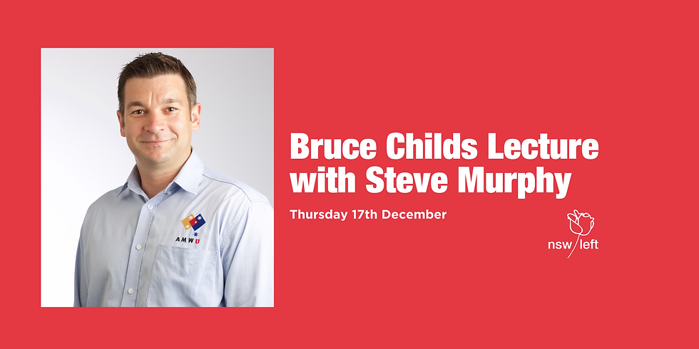Bruce Childs Lecture with Steve Murphy