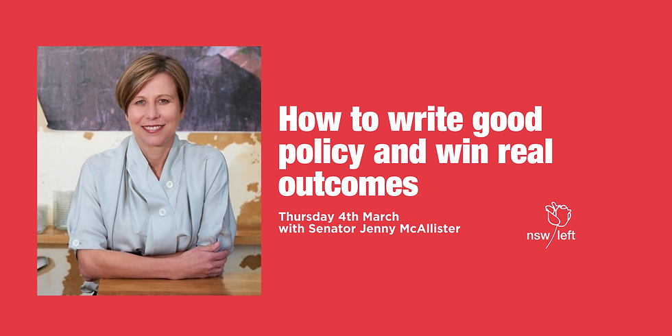 How to write good policy and win real outcomes
