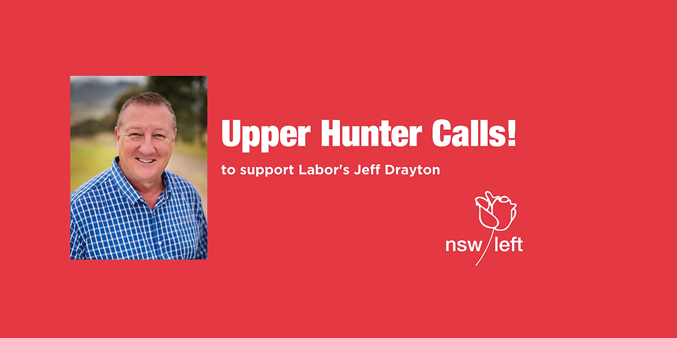 Upper Hunter by-election calls