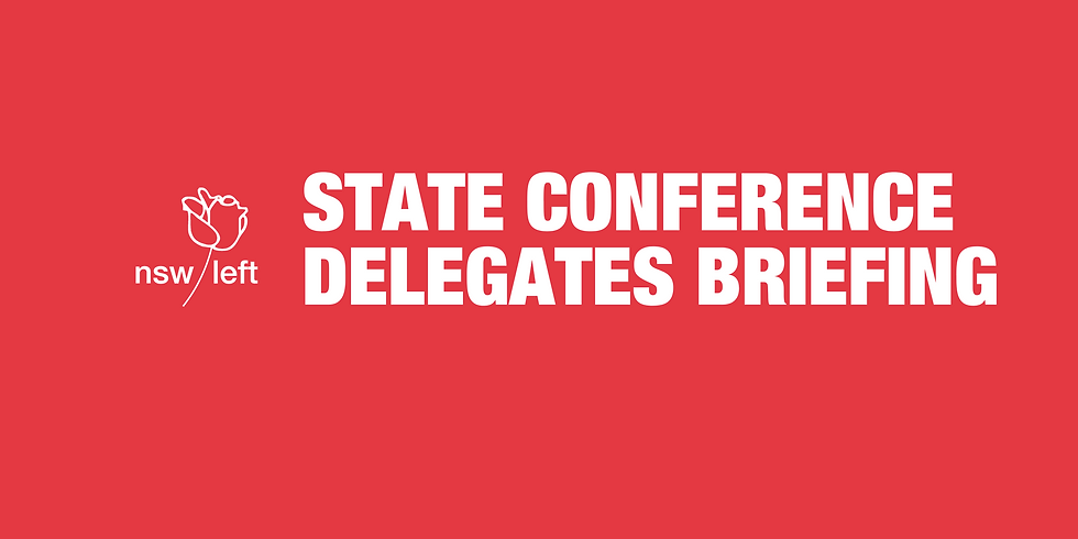 State Conference Delegates Briefing