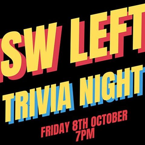 NSW Left Trivia Night