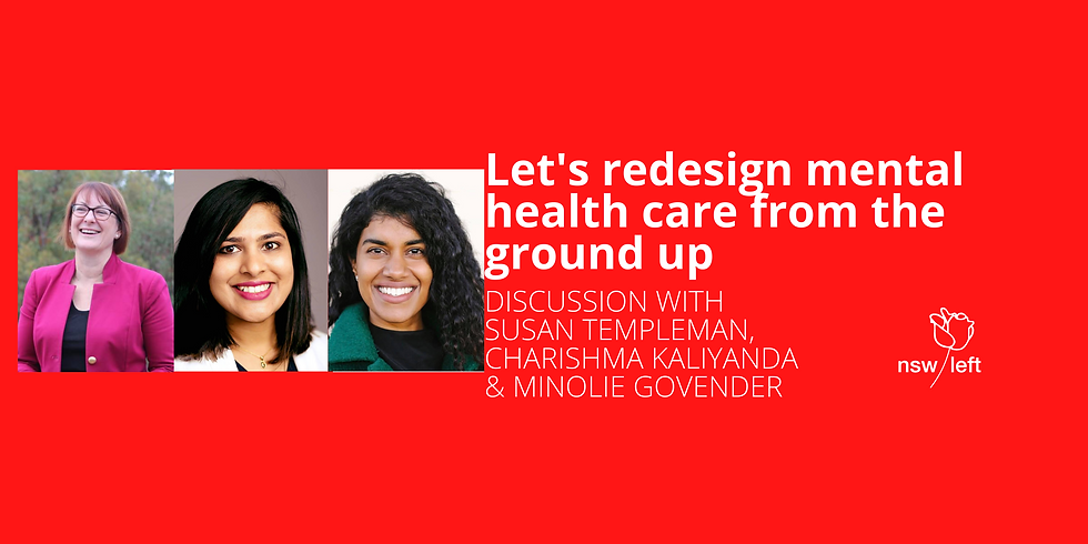 Let's redesign our mental health system from the ground up