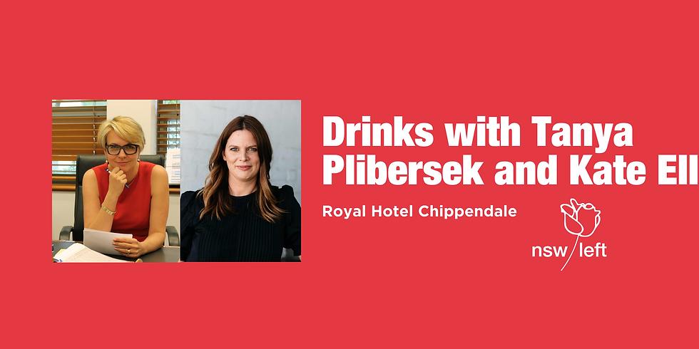 Drinks with Tanya Plibersek and Kate Ellis