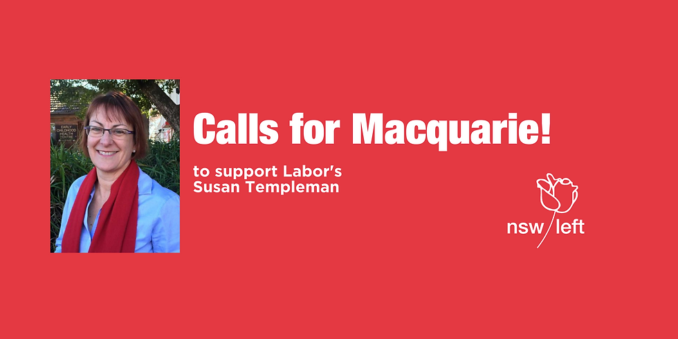 Calls for Macquarie!