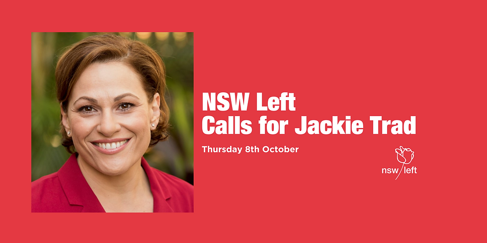 Calls for Jackie Trad