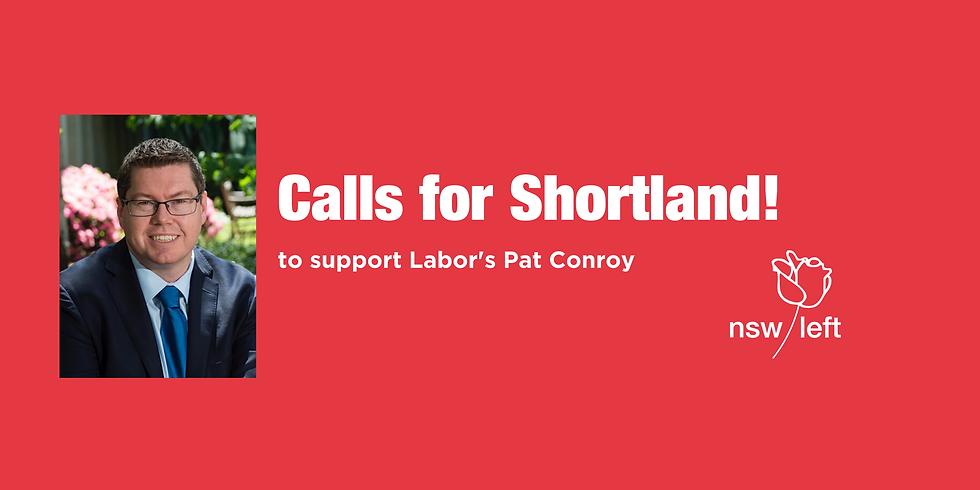 Calls for Shortland!