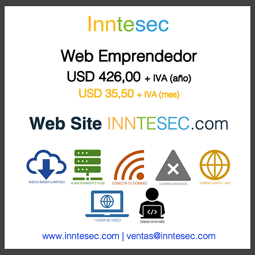 Web Site Emprendedor