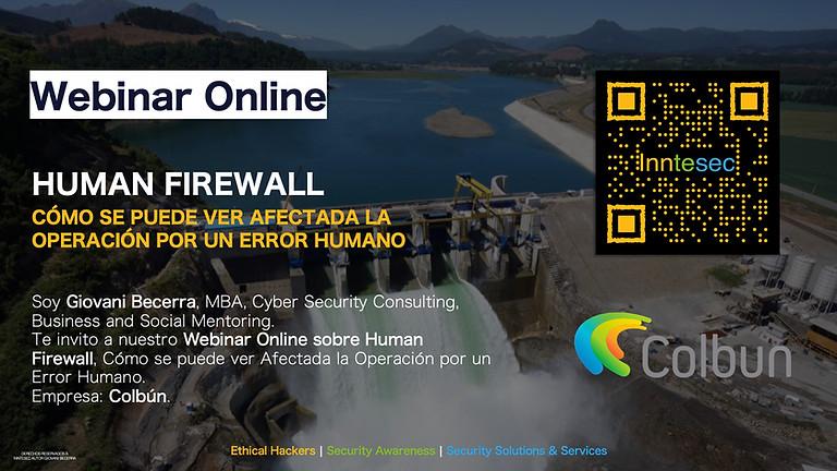 Webinar Online: Cómo se puede ver Afectada la Operación por un Error Humano