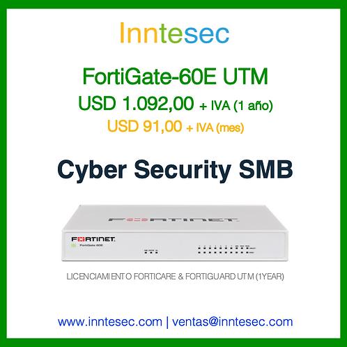 Firewall FortiGate-60E UTM (1Y)