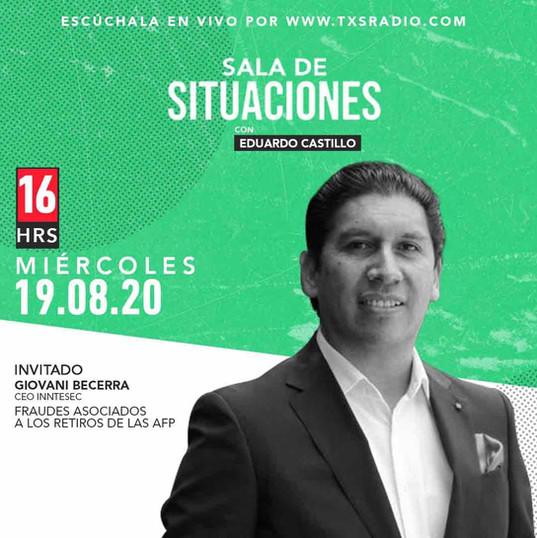 Entrevista TXS Radio