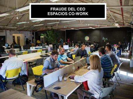 Ataques de Fraude del CEO / Emprendedores en Espacios Co-Work