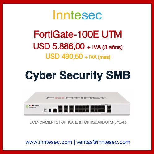 Firewall FortiGate-100E UTM (3Y)
