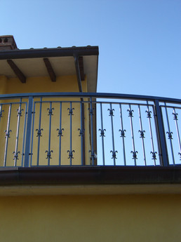 Aluminum balcony Model B005