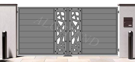 FRIDA_marchiato_Alutrend_aluminium_gates