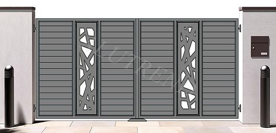 AURORA_marchiato_Alutrend_aluminium_gate