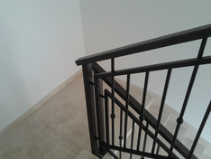 Internal staircase railing Model B009