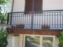 Aluminum balcony Model B012