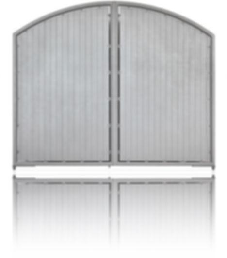 gate aluminium classic slat